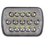 12V 4x6 5X7, faros LED 45W de las luces de trabajo