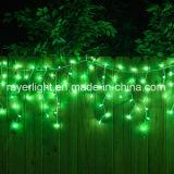 Luces LED Icicle Fairy decorativos de la luz de las luces de Navidad para la decoración de boda
