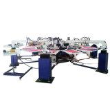 熱い販売6カラー自動織物の印字機