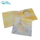 カスタム高品質のオフセット印刷の薄紙表紙の本