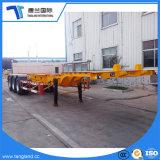 3 eixos de transporte do porto para 40 pés esqueleto de contentores semi reboque
