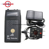 Detector de errores de RF de audio Sweeper con lente de la verificación de audio del detector de señal de la pantalla acústica buscador sincero Wiretapped Anti Anti