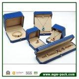 Caixa de jóia plástica Octagonal luxuosa com fecho