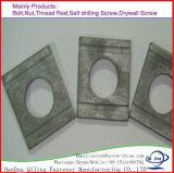 고품질 스테인리스 둥근 구멍 사각 세탁기 DIN 436
