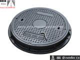 Two ScrewのEn124 SMC Material Round Composite Manhole Cover