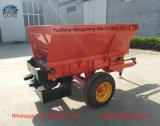 L'agriculture de la machinerie d'engrais remorqué de l'éparpilleur du tracteur