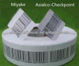 Sensível branco 8.2 MHz etiquetas autoadesivas anti-roubo autocolante