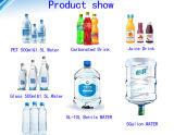 Lavado con agua de botella equipo de limitación de llenado