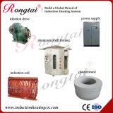 fornalha de derretimento de alumínio da freqüência 3t média dos fornecedores de China