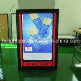 Snap Open LED Edge Lit Box Light Ultra Thin LED Acrylique LED Light Photo Frame