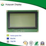 240X128를 가진 파란 배경 도표 LCD 모듈은 점을 찍는다 (STN)