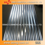 Chaud/laminés à froid galvanisé à chaud de matériaux de construction de feux de croisement/Couleur prépeint enduits ASTM PPGI ondulé de toitureen tôle en acier