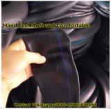 Natürliches Butylkautschuk-Motorrad-inneres Gefäß der Dehnfestigkeit-8MPa-12MPa (3.00-18)