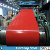 La couleur galvanisée a enduit la bobine en acier en acier de la bobine/PPGI PPGL pour la feuille de toiture