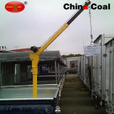 mini camion électrique de grue de C.C 12V monté levant la grue