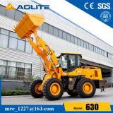 machine de chargeur de la construction 3ton lourde, chargeur 630 de roue de la Chine