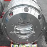 """Chariot de l'aluminium forgé 22,5"""" Jantes en alliage moulé"""