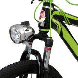 LEDの前部バイクライト最高は自転車のヘッドライトを置いた