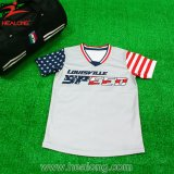 Sublimation Healong Mens Baseball Jerseys Softball tee-shirts personnalisés