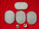 Pantalla de filtro oval del paquete de la dimensión de una variable con el borde envuelto