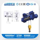 Alzamiento de cuerda eléctrico de alambre de la alta calidad 1ton 5ton 10ton 20ton \ alzamiento de elevación de cadena eléctrico