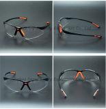 De Bril van de Veiligheid van de Lens van de Rook van het Type anti-UV400 van sporten (SG125)
