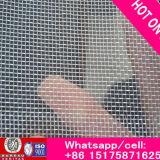 ISO9001 het Opleveren van de Draad van het Scherm van het Venster van het Netwerk van de Draad van het Aluminium van de EpoxyHars van de fabriek het Met een laag bedekte Zwarte Opleveren van het Insect