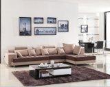 Chinesische Möbel/Kombinations-Sofa/Hotel-modernes Schnittsofa/Wohnzimmer-modernes Sofa/Ecksofa-/Polsterung-Gewebe-modernes Wohnungs-Sofa (GLMS-021)