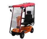 Vier Wheels Electric Mobility Scooter mit Rain Cover