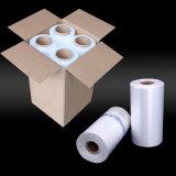 Roulis de film transparent blanc d'empaquetage en plastique