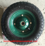 350-7 외바퀴 손수레를 위한 압축 공기를 넣은 고무 바퀴