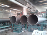 オイルの&WaterのためのAPI 3PEのコーティングの螺線形の鋼鉄管は運ぶ