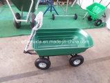 Folding Wagon / Wheel Barrow / Dump Cart / Garden Tool Cart (TC4253)