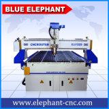 水冷却1325 3axis CNCの木製のルーター、CNC 3Dの工場価格のプラスチックルーター機械