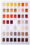 Fabrication colorée en gros de bande de satin de polyester en Chine