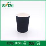 Doppel-wandige Twill-Kräuselung-Papier-Großhandelskaffeetassen
