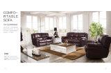 Modello domestico 918 del sofà del cuoio del Recliner della mobilia