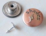 Teclas moventes de prata B288 das calças de brim