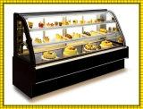 il controsoffitto del forno di 220V 230V ha piegato la visualizzazione refrigerata torta di vetro