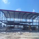 Construção de aço da luz do edifício da Pre-Engenharia para o armazém Prefab