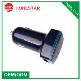 Оптовые продажи с возможностью горячей замены с двумя портами USB автомобильное зарядное устройство для мобильных телефонов