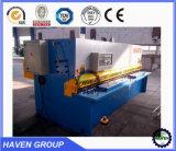 Máquina hidráulica QC11Y-10X3200 da guilhotina do corte e de estaca