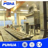 Сложная комната взрывать песка стальных структур с истирательной рециркуляционной системой