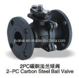 Válvula de esfera com flange de aço inoxidável 2PC (Q41F-16P)