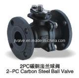2PC Edelstahl Flanged Ball Valve (Q41F-16P)