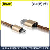 주문을 받아서 만들어진 이동 전화 Elecric 마이크로 USB 데이터 충전기 케이블