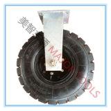 16 Wiel van de Gietmachine van de Band van de duim het Pneumatische Rubber