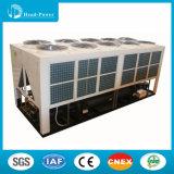 Tipo marinho refrigerador da bomba de calor R407 de água de refrigeração ar do parafuso