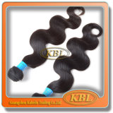 Cheveux humains de Vierge de bonne qualité de la catégorie 5A Brazilain