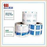 Papier en aluminium pour papier Alchol Pad Packing